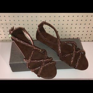 Maurices brown Eleanor sandals size 11 NEW!